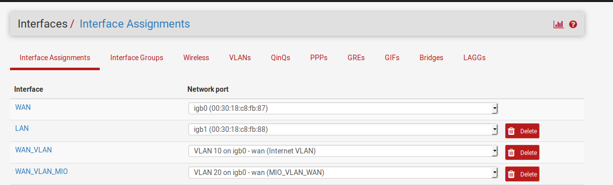 Replacing your Singtel PACE router with a pfSense router
